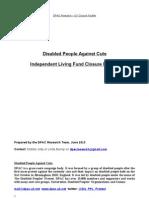 DPAC Report - ILF Closure Factfile