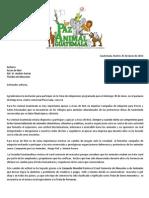 Respuesta a Arcas de Noe Invitacion a PAGT Participar en Feria Adop. Dom 30 Junio 2013.