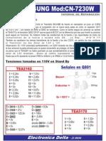 Noblex 29TC699 - Informe de Reparacion de Fuente