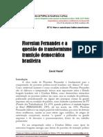 Florestan Fernandes e a questão do transformismo na transição democrática brasileira- Dvid Maciel