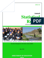 Statistical Report 2012-13 FATA Updated