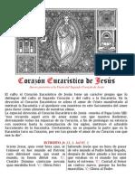 Corazón Eucaristico de JEsús. Jueves posterior al Sdo. Corazón. PDFbilingue