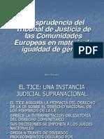 Jurisprudencia Del Tje en Materia de Igualdad de Generoarturo Brostein.