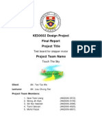 Final Report of product