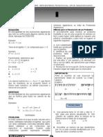 TEMA 4 PLANTEO DE ECUACIONES I RM 3º-CEPS 2011
