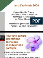 Rapport Activites Emf 2004