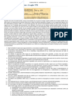 Fondazione Italia Usa - Dichiarazione Di Indipendenza Americana
