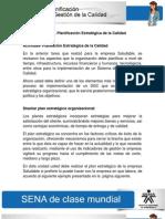 Solución Actividad de Aprendizaje unidad 2 Planificación Estratégica de la Calidad