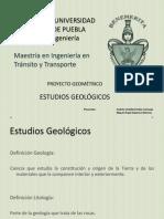 Estudio Geologico