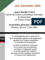 Rapport Activites Emf 2005