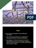 4 - Minerais de Argila