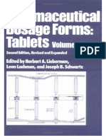 Pharmaceutical Dosage Forms Tablets Vol 1