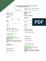 Comandos de Funcion de Transferencia Polos Ceros y Constantes en Matlab