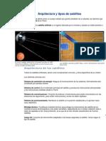 Arquitectura y tipos de satélites