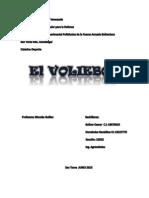 El Voleibol Trabajo de Deporte FINALIZADO