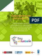 Documento Sistematizacion Del Proyecto Soy Voluntari@