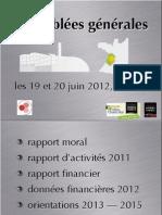 Rapport Activites Emf 2011