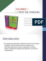 Test de Colores y Palabras (Final)