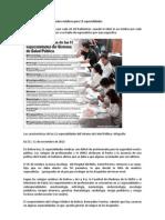 En Bolivia faltan profesionales médicos para 11 especialidades