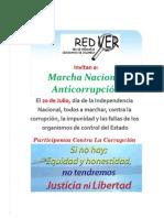 Marcha Nacional Anticorrupción