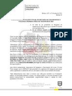 BOLETÍN 44, 1RA FERIA DE TRANSPORTE