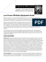 Lpfm Equipment Guide