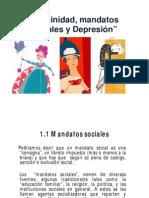 Mandatos , feminidad y Depresión pdf