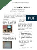 Informe,Experiencia 1, Lab Fisica.