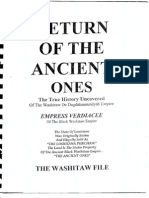 01 Return of the Ancient Ones - The Washitaw Files - Empress Verdiacee