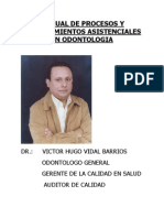 Manual Procedimientos Asistente Dental