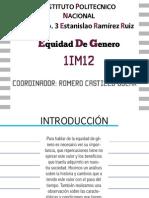 Revista_Equidad de Genero_ 1IM12