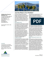 Collaborative Financial Solutions Newsletter 2013