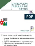 03 y 04.Organización tabular de datos