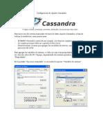 Configuración de Apache Cassandra