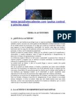 Psicologia Social-TEMA 11ACTITUDES.(Apuntes.examenes.psicologia.uned.Esquemas.resumen)