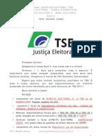Direito Eleitoral para TSE 9ª Aula