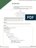 C #Ya - Estructura de Datos Tipo Matriz