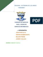 Derecho Informatica}