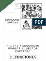 Higiene y Seguridad Industrial Sector Cafetero 2..