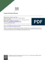 Przeworski & Limongi - Modernization. Theories and Facts