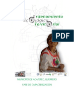 Ordenamiento Ecológico Territorial - Acatepec, Guerrero