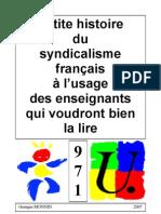 PDF Petite Histoire Du Syndicalisme a l Usage Des Enseignants-3