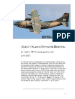 Agent Orange Exposure Briefing