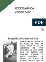 Psicodinamica de Melanie Klein