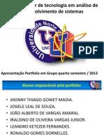 APRESENTAÇÃO 2013