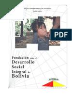 Brochure institucional Fundación FUDESIB