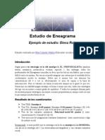 Ejemplo Estudio de Eneagrama