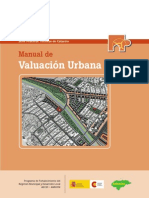 Manual valuación urbana para Catastro