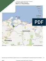 de Yaguaraparo, Venezuela a Mérida, Venezuela - Google Maps