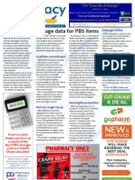 Pharmacy Daily for Wed 26 Jun 2013 - PBS Dosage Data, SA Pharmacists on TV, DAA\'s online, new products and more